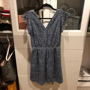 MADEWELL Blue Dress Size Small